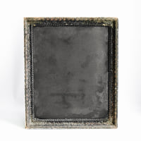 Chalkboard // Brown Framed #3