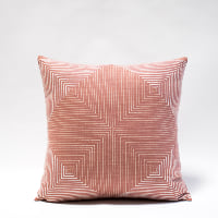 Pillow // Rust Geo Print
