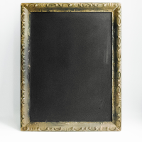Chalkboard // Brown Framed #1