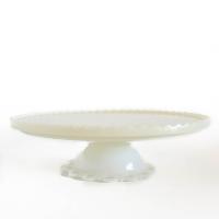 Milkglass Dessert Stand