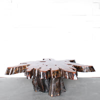 Cyrus Wood Coffee Table
