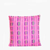 Pillow // Mexican Embriodered Pillow, Pink
