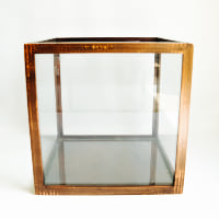 Glass Display Box, Cube