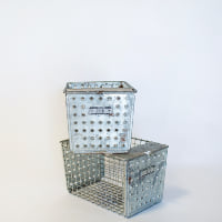 Metal Locker Basket // Skinny