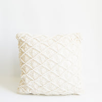 Pillow // Macrame Cream