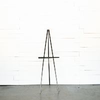 Black Wooden Easel
