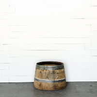Wine Barrel // Half