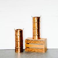 Aeris Large Copper Vase