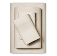 Linen Blend Sheets Set, Queen 4 pc.