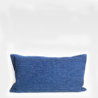 Pillow // Indigo Kantha, sm