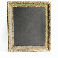 Chalkboard // Brown Framed #2