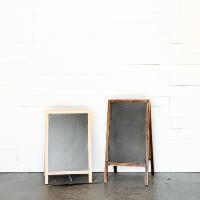 A-Frame Chalkboards