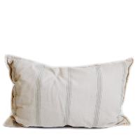 Pillow // Natural Cotton Stripe