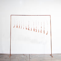 Copper Pipe Backdrop