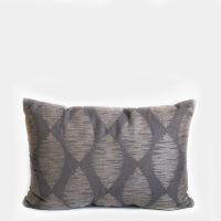 Pillow // Charcoal + Grey Pattern