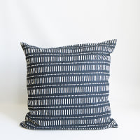 Pillow // Black and White Patterned