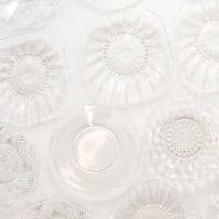 Clear Glass Dessert Plates