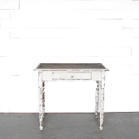 Petite White Farm Table