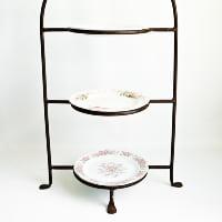 3- Tier Metal Dessert Stand