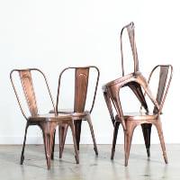 Bronze Tolix Chair