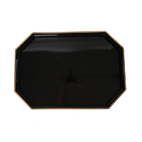 Mabel Black and Gold Tray