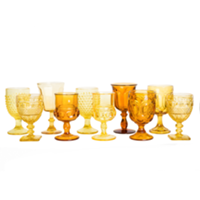Yellow Pressed Glass Collection