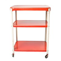 Ruby Red Bar Cart