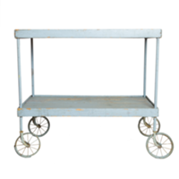 Grey Wagon Cart