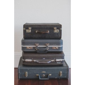 Grey Luggage Collection