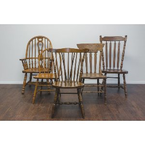 Mismatched Chair Collection
