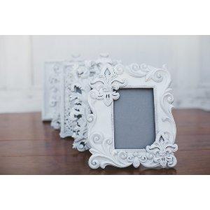 White Ornate Frames