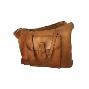 Camel Messenger Bag