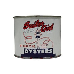 Sailor Girl Oyster Cans - 12 oz