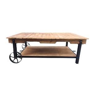 Cade Industrial Coffee Table
