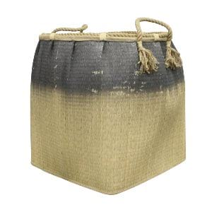 Woven Moroccan Basket - Blue