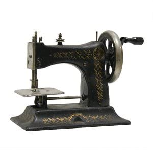 Vintage Petite Sewing Machine