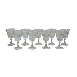 Waterford Diamond Flare Goblet