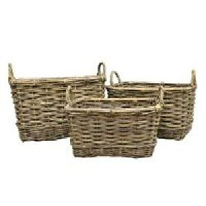 Wicker Basket - Set of 3