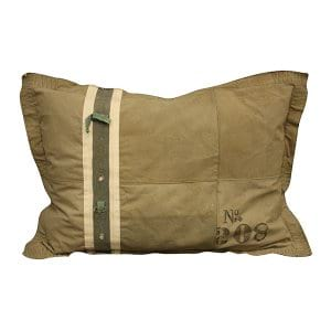 Military Khaki Floor Pillow