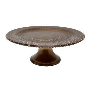 Copper Glass Cakestand - Small