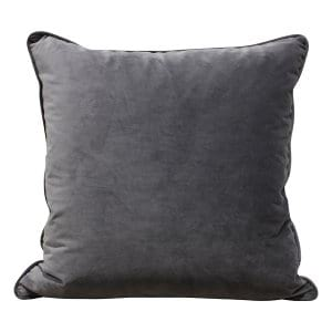 Gray Velvet Pillow