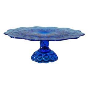 Biona - Blue Glass Cake Stand