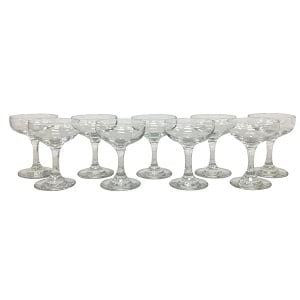 Mini Champagne Coupe Collection