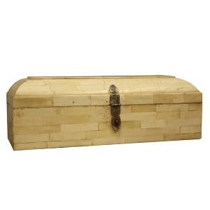 Ivory & Wood Jewelry Box