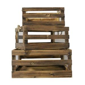 Wood & Wire Crates