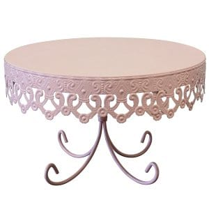 Paola - Pink Decorative Cake Stand
