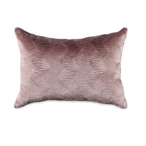 Layton Blush Ruched Pillow