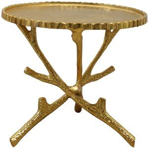 Golden Branch Cake Stand