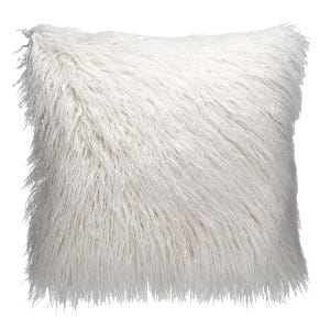 White Fur Pillow