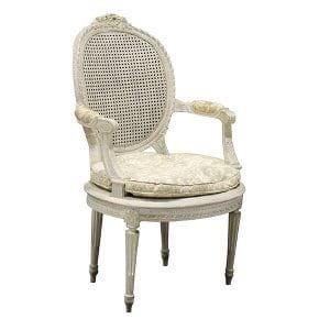 Vienne-Louis XVI Cane Chair